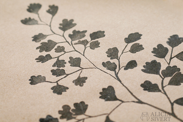 Maidenhair fern, ink study by Alicia Sivertsson. aliciasivert alicia sivert alicia sivertsson monthly makers växter juni tema 2016 skapa skapande kreativitet utmaning blogg bloggutmaning måla bläck växt blommor paint painting ink flowers flower create make art craft handicraft venushår maiden hair fern maidenhair adiantum