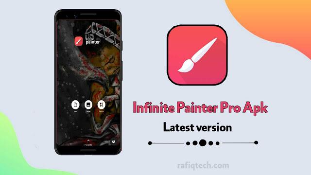 تحميل تطبيق الرسم  Infinite Painter Mod APK أخر إصدار [جميع الميزات مفتوحة ]
