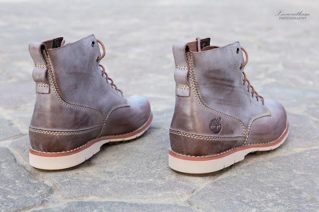 「敗家之路」Timberland 深褐色復古摔紋高筒靴 - 5