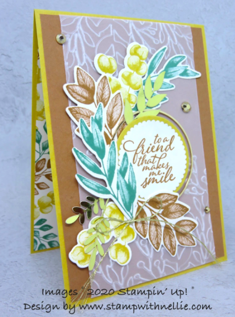 Nigezza Creates with Stampin' Up! & friends The Project Share 25th June 2020