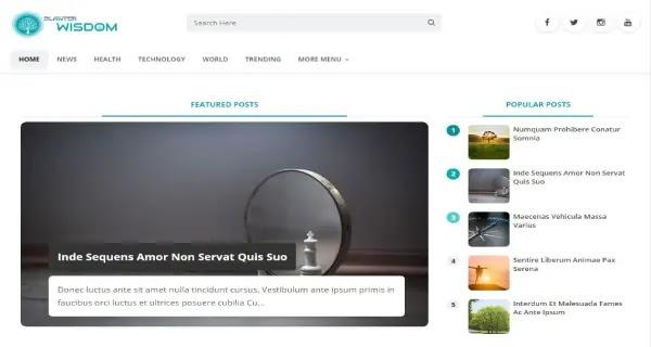 download template blog gratis terbaru