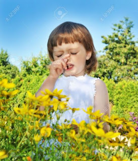 Pollen allergy in child, symptom, remedies, cure, treatment, infants, toddlers.
