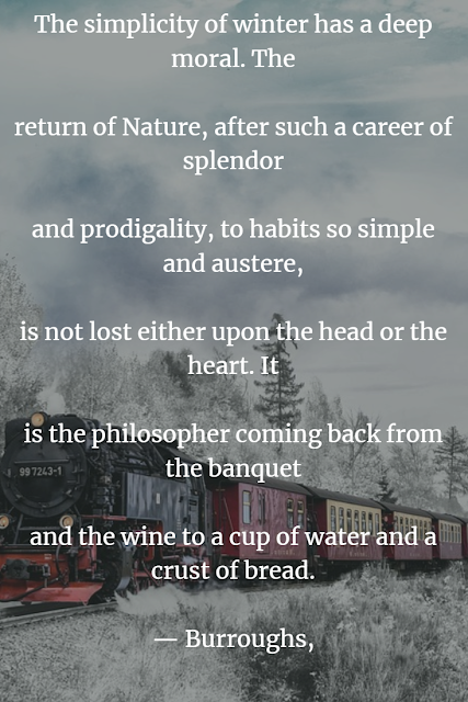 inspirational nature sayings about winter