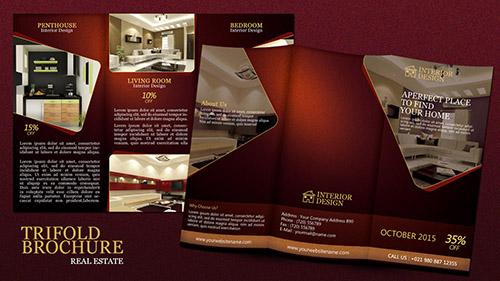 Create a Tri fold Real Estate Brochure Photoshop Tutorial - create tri fold brochure