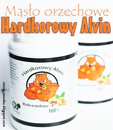 Masło orzechowe 100% - Hardkorowy Alvin
