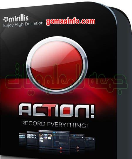 تحميل برنامج تصوير الشاشة و عمل الشروحات و البث المباشر | Mirillis Action 4.5.0