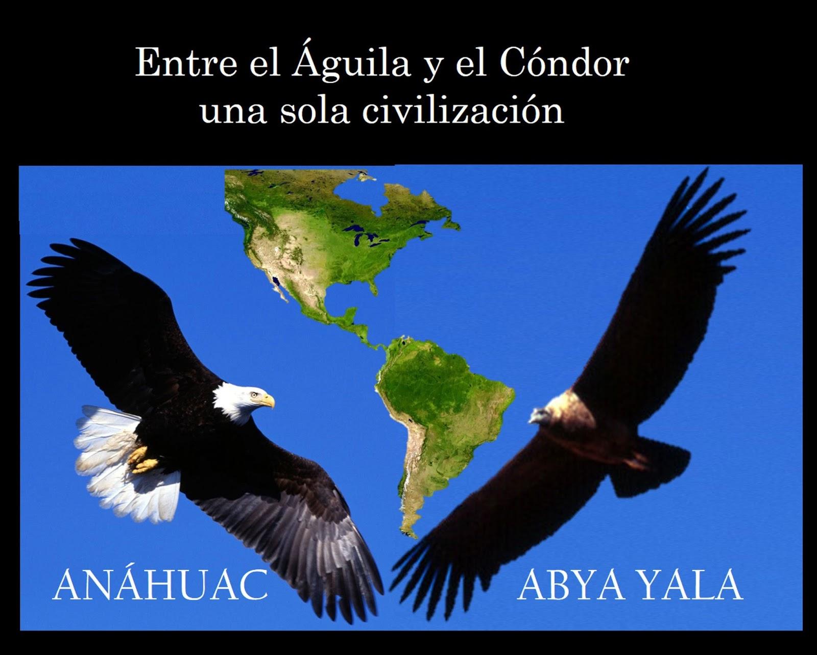 ANHAHUAC-TAWANTINSUYU<br>LA UNIDAD EN LA DIVERSIDAD CONTINENTAL