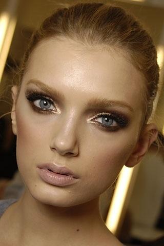 I want pretty: Make Up- Maquillaje para ojos café-bronce ...