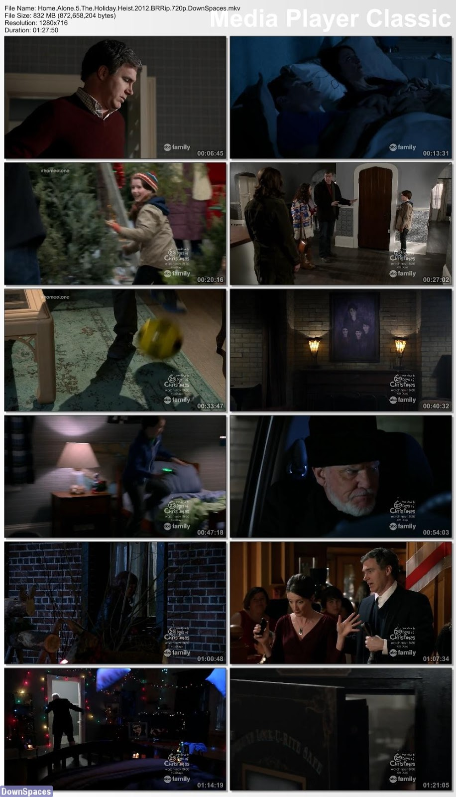 Download Home Alone 5 The Holiday Heist 2012 BRRip 720p ...