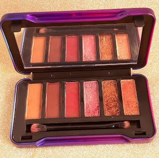 resenha Palette de Sombras Sexy Six virtual Make B O Boticário dicas da tia cores