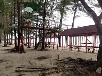 spot fot instagramable di pantai laguna