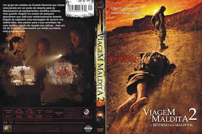 Filme Viagem Maldita 2 - O Retorno dos Malditos (The Hills Have Eyes 2) DVD Capa