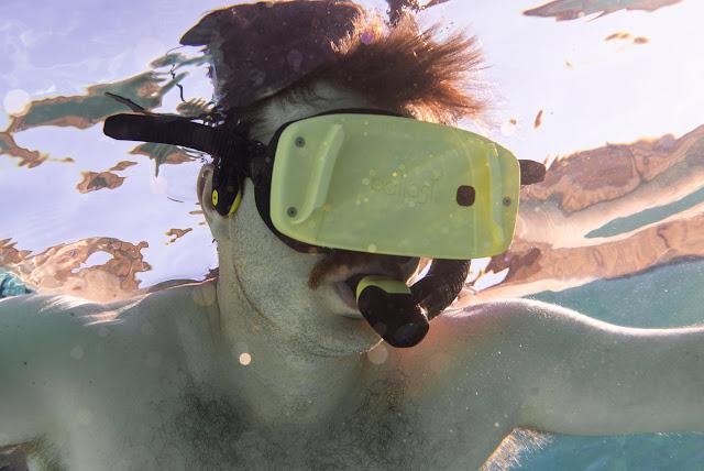 virtual reality underwater mask