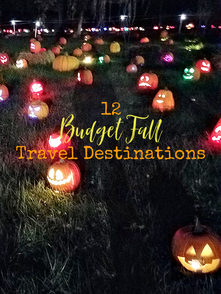 With things opening back up and travel being more than just optimistic in the coming months, I thought you'd like some budget fall  destinations.