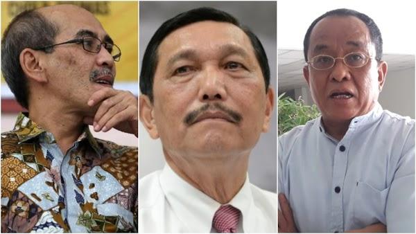 Ratusan Tokoh Dukung Said Didu dan Faisal Basri, Desak Jokowi Pecat Luhut