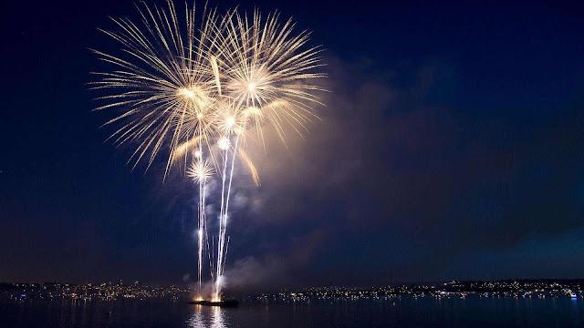 beautiful fireworks wallpaper