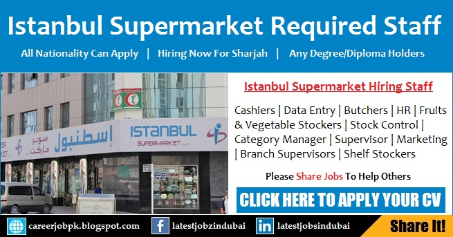 Latest Supermarket Jobs in Sharjah