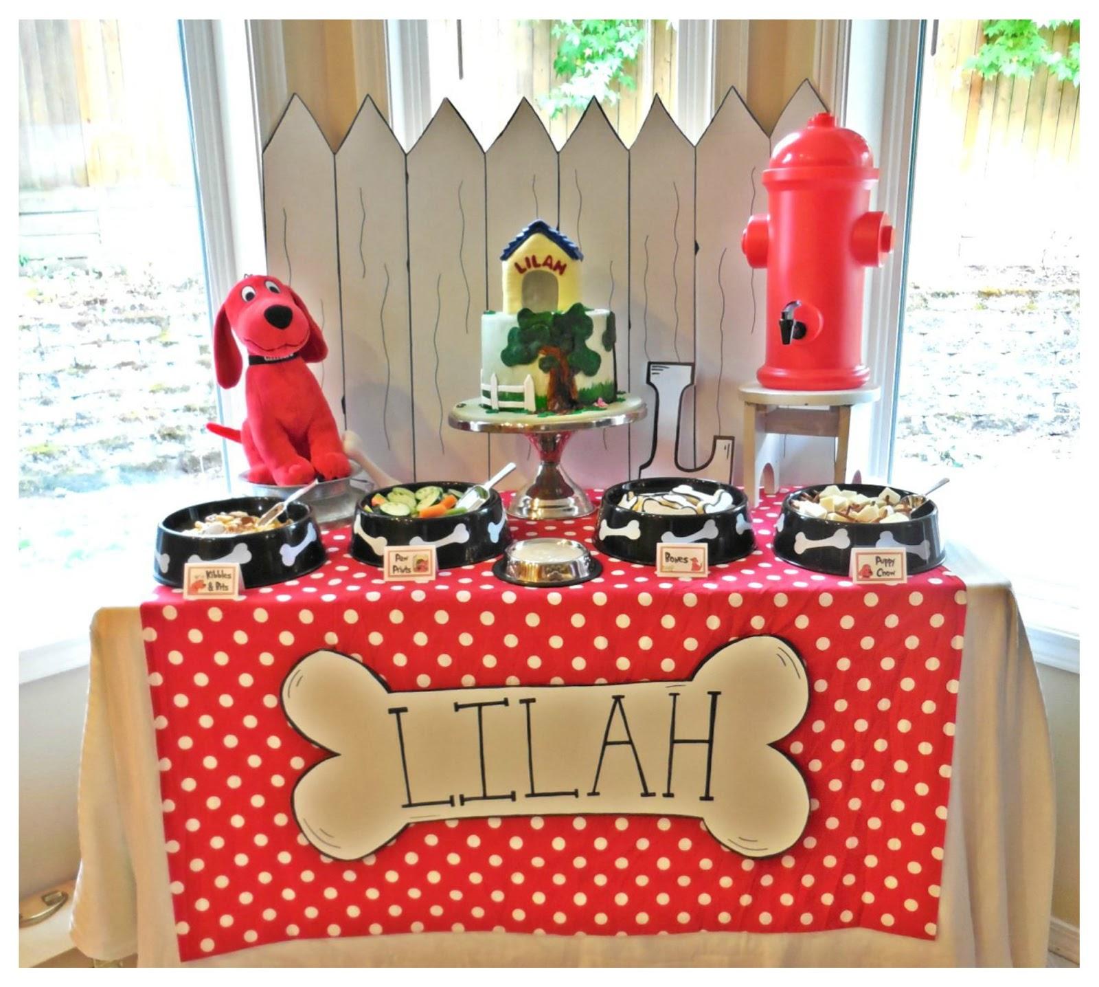 Bella C Parties Clifford Birthday Party