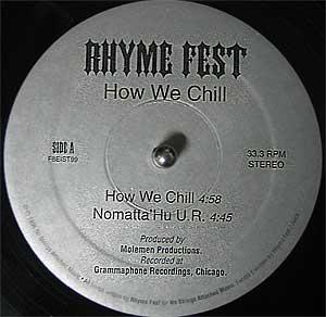 12'' Inch Vinyl Rap 90'S