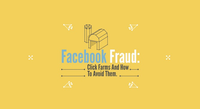 How to Avoid Fake Likes with Facebook Ads - infographic