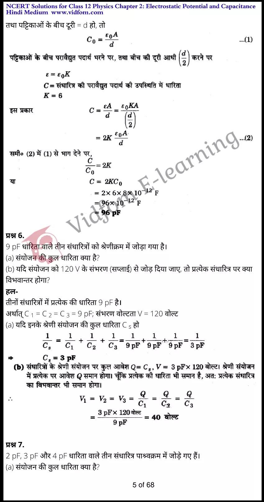class 12 physics chapter 2 light hindi medium 5