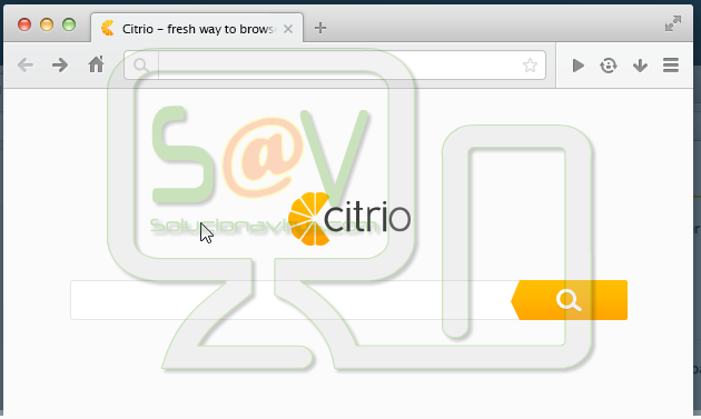 Citrio Browser (Hijacker)