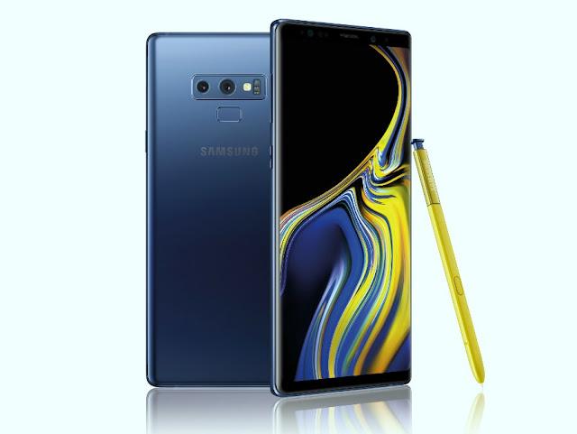 Harga dan Spesifikasi Samsung Galaxy Note 9
