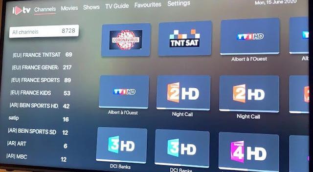 شرح تفعيل iplaytv لمشاهدة القنوات والافلام مجانا على iPhone ،iPad وApple TV