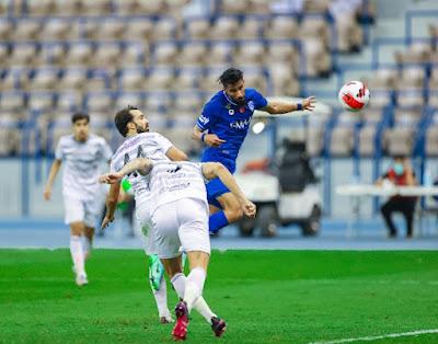 هدف فوز الهلال القاتل علي الطائي (1-0) الدوري السعودي