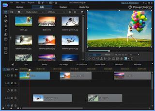 Cyberlink Powerdirector top video editing software 2020