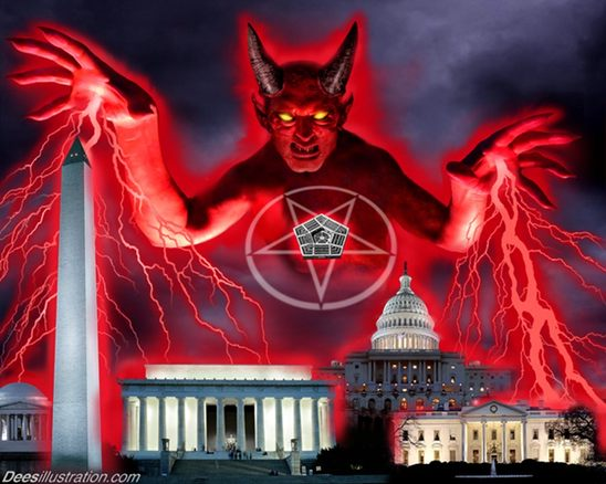 Caught On Camera: Satanic Ceremony Speech Held In Washington, DC