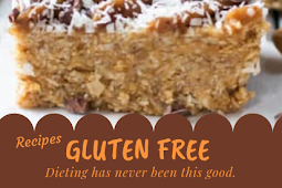 Healthy No-Bake Magic Bars Gluten free #glutenfree
