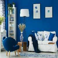 FunEscapegames Classy Dark Blue Home