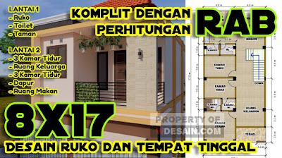 Desain Ruko Minimalis 2 Lantai Dan Rab Desain Rumah Minimalis