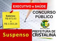 Justiça suspende concurso público 2016 em Cristalina