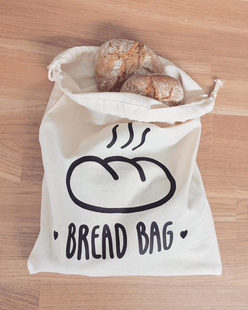 Saco do pão da Respiramor