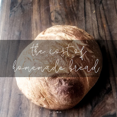 cost of homemade bread