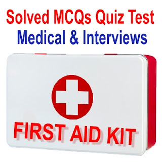 FIRST AID KIT MCQS QUIZ TEST AND PDF BOOK