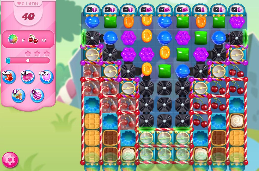 Candy Crush Saga level 8764