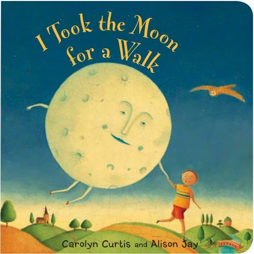 I Took the Moon for a Walk, part of children's book review list about outer space