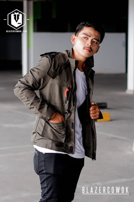 blazer cowok blazercowok.com jaket korean jas pria sk116 c