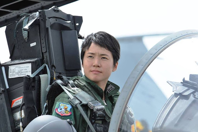 Japan first female fighter pilot