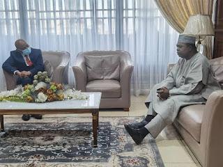 Le nouveau Ministre des Finances en mission au Cameroun