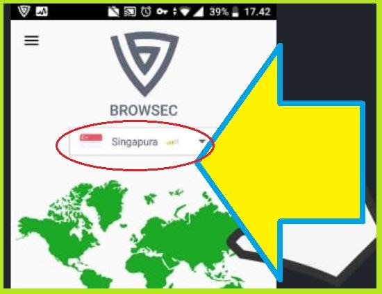 Cara Menggunakan Browsec VPN Di Hp Android 6