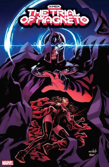 Marvel revela más portadas de 'The Trial of Magneto'.