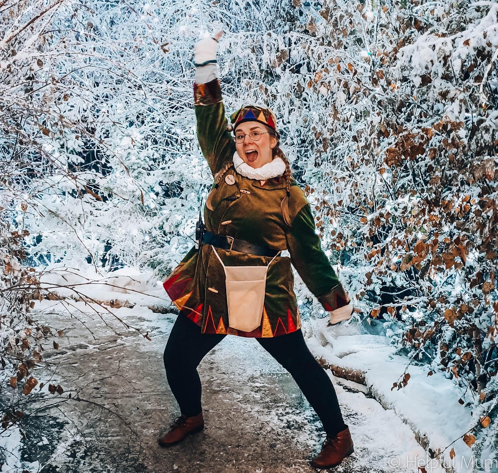Lotherton Christmas Experience Elf