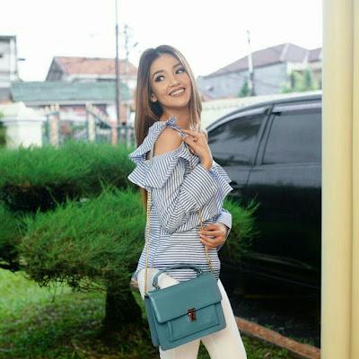 Tsania Marwah JH Nichole Bag Blue
