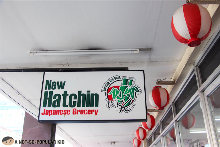 New Hatchin Japanese Grocery Store in Cartimar