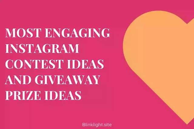 Most Engaging Instagram Contest Ideas and Giveaway Prize Ideas