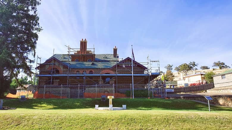 The New Court House, Omeo Victoria